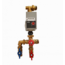 R557RY045 Complete thermostatic mixing group for underfloor heating