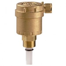 "Giacomini Automatic Air Vent with Isolating Valve Size 3/8"" (Item: R88IY002)"