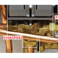 010ASP042 Motorised 3 Way Zone Valve Body