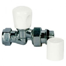 Giacomini Aquarius Full Flow Straight Radiator Valve (Item: R28GBX023)
