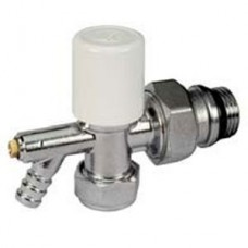 "Giacomini Stella Radiator Valve with Drain-off 1/2""x15mm (Item: R729SX033)"