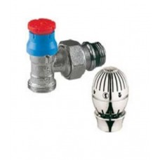 R446ZX043 Radiator Valve with Chrome Head