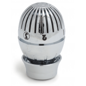 T470CX003 Giacomini Thermostatic head Globe Chrome Plated