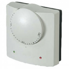 230v Wall Mounted Electronic Dial Thermostat with TS3 Floor Sensor (Item: RET230LSA)