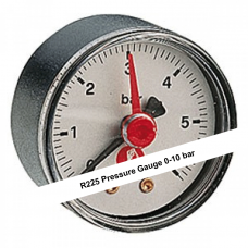 "Pressure Gauge 1/4"" 0 - 10 bar (Item: R225Y002)"