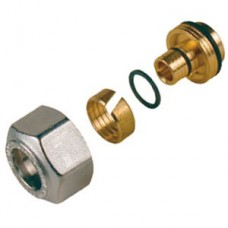 R179MX024 Giacomini 16mm x 2 Single Pipe Connector (one per pack)